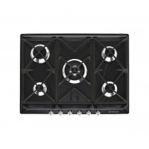 Smeg Victoria 70 Black Gas Hob