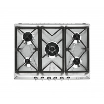 Smeg Victoria 70 Stainless Steel Gas Hob