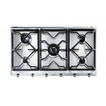 Smeg SRV596GH5 Cucina 90 Stainless Steel Gas Hob