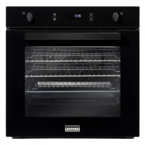 Stoves ST SEB602F Black Single Electric Fan Oven 444410140