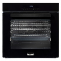 Stoves ST SEB602MFC Black Single Electric Multifunction Oven 444410142