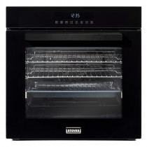 Stoves ST SEB602TCC Black Single Electric Multifunction Oven 444410035