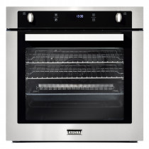 Stoves ST SEB602F Stainless Steel Single Electric Fan Oven 444410139