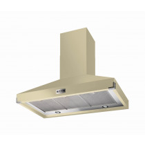Falcon 900 Super Extract Cream/Chrome Cooker Hood