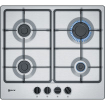 Neff N50 60cm Stainless Steel Gas Hob T26BB46N0