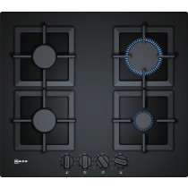 Neff N70 60cm Black 'Gas on Glass' Gas Hob T26CA42S0