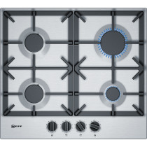 Neff T26DS49N0 Stainless Steel Gas Hob