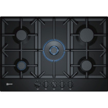 Neff N70 75cm Black Gas Hob T27DS59S0
