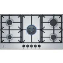 Neff N70 90cm Stainless Steel Gas Hob T29DS69N0