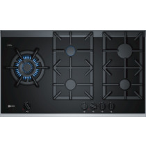 Neff N90 90cm Black Ceramic Glass Gas Hob T29TA79N0