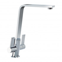 CDA Contemporary Slant Chrome Monobloc Tap TC77CH