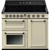 Smeg Victoria 100 Cream Induction Range Cooker TR103IP