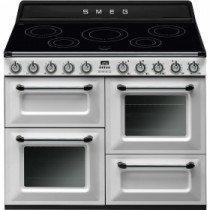 Smeg Victoria 110 White Induction Range Cooker TR4110IWH