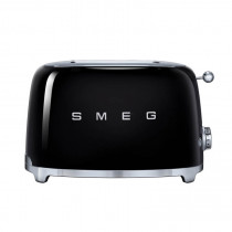 Smeg 50's Retro Style Black Two Slice Toaster