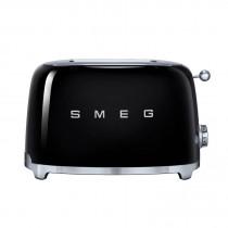 Smeg 50's Retro Style Black Two Slice Toaster