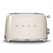 Smeg 50's Retro Style Cream Two Slice Toaster