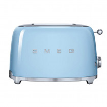 Smeg 50's Retro Style Pastel Blue Two Slice Toaster
