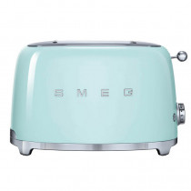 Smeg 50's Retro Style Pastel Green Two Slice Toaster