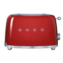 Smeg 50's Retro Style Red Two Slice Toaster