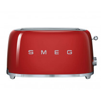 Smeg 50's Retro Style Red Four Slice Toaster