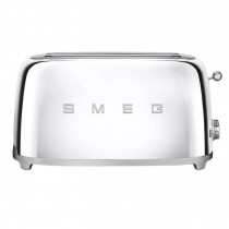 Smeg 50's Retro Style Chrome Four Slice Toaster