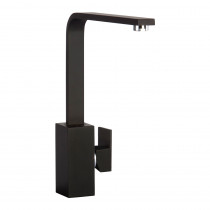 CDA Contemporary Square Side Single Lever Black Tap TV9BL