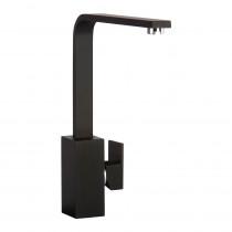 CDA Contemporary Square Side Single Lever Black Tap TV9BL