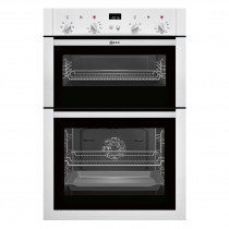 Neff U14M42W5GB White Electric Integrated (Built-In) Double Oven