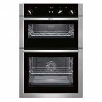Neff U14S32N5GB Stainless Steel Electric Integrated (Built-In) Double Oven