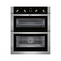 Neff U17M42N5GB Stainless Steel Built-Under Double Oven
