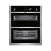 Neff U17S32N5GB Stainless Steel Built-Under Double Oven