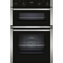 Neff N50 Black Double Oven U1ACE2HN0B