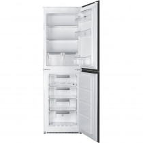 Smeg UKC7172NP Integrated In Column No Frost Fridge Freezer
