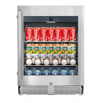 Liebherr UKes1752	GrandCru Stainless Steel Built-Under Beverage Centre