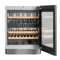 Liebherr UWTgb1682 Vinidor Black Built-Under Wine Chiller Cabinet