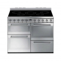 Smeg Symphony 110 Induction Stainless Steel Range Cooker