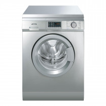 Smeg WDF147X Freestanding Stainless Steel Washer Dryer