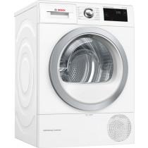 Bosch Serie 6 WTW87660GB Freestanding White Condenser Tumble Dryer