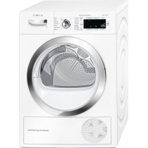 Bosch Serie 8 WTWH7560GB Freestanding White Condenser Tumble Dryer