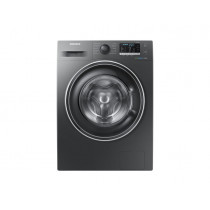 Samsung 1400 Spin 8kg Freestanding Black Washing Machine