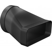 Neff Duct Adapter Round-Flat Black Z861SI0