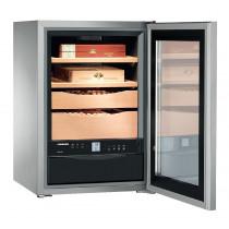 Liebherr ZKes453 Freestanding Stainless Steel Humidor Cigar Cabinet