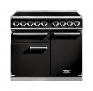 Falcon 1000 Deluxe Induction Range Cooker Black
