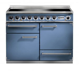 Falcon 1092 Deluxe Induction China Blue/Nickel Range Cooker
