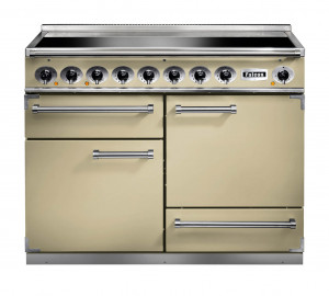 Falcon 1092 Deluxe Induction Cream/Chrome Range Cooker
