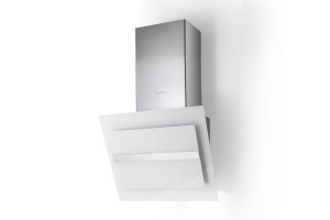 Faber Northia 60cm White Glass / Stainless Steel Wall Hood