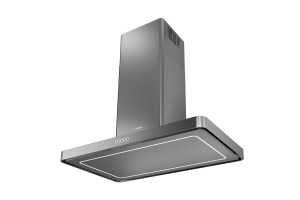 Faber T-Light Isola 100cm Stainless Steel Island Hood