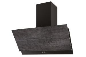 Faber Grexia 90cm Dark Grey Stoneware Wall Hood