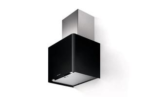 Faber Lithios 45cm Black Matt Wall Hood