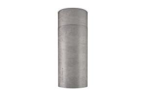 Faber Cylindra Isola Plus 37cm Concrete Island Hood